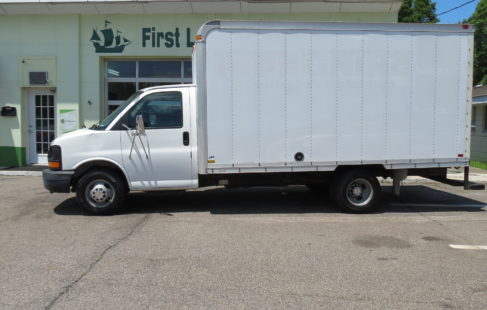 Chevy Express Box Truck