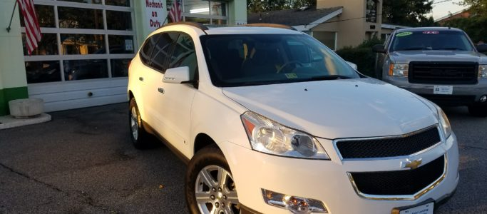 used chevy traverse